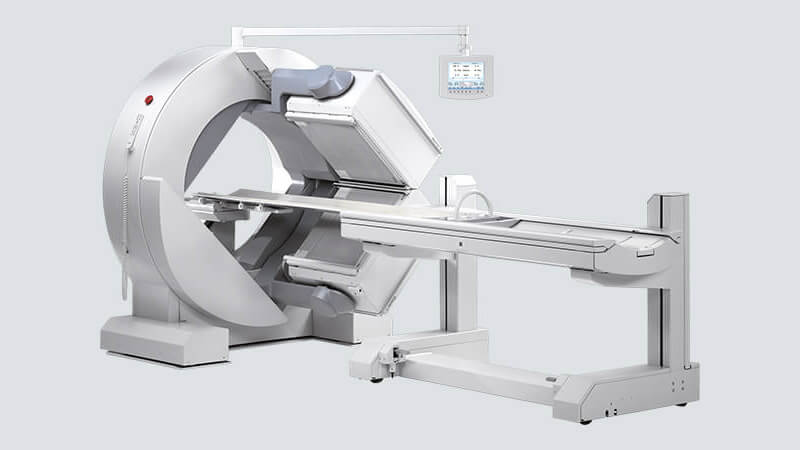 mie make single head dual head gamma camera